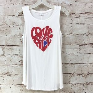Old Navy Love For All Swing Tank Top